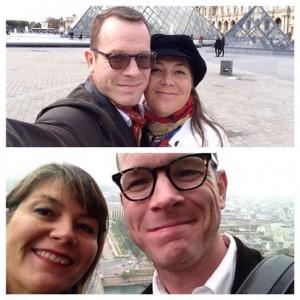 Ben and Tina in Paris